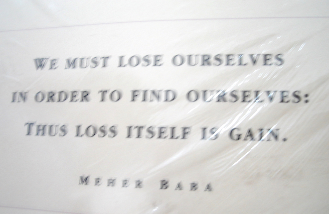 mpr india quote meher baba