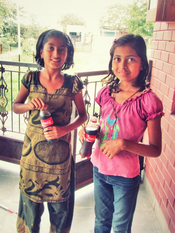 Indian girls and coke