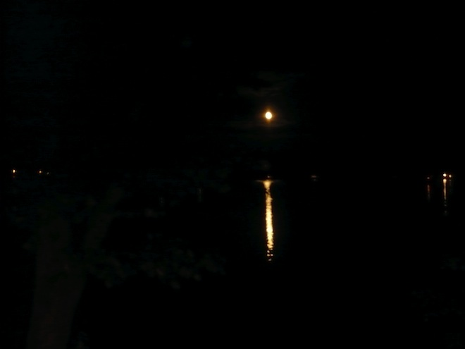 moon night new hampshire laconia